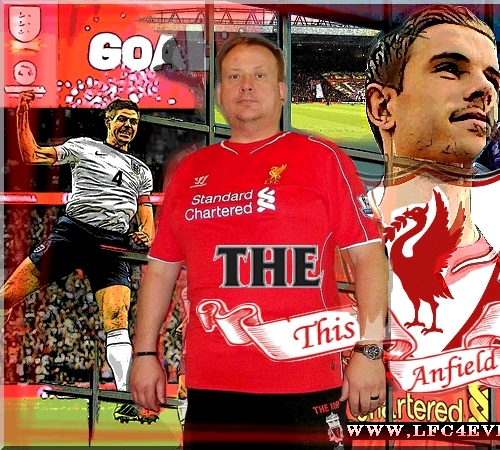 Welcome of my Liverpool FC Page!